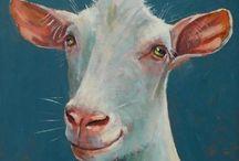 schapen tekenen / schilderen