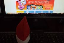 Twistmas the office Elf on a Shelf / Twistmas our office #Elf is busy helping out.  Watch to see where he turns up next!