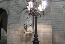 Street Lamps in Barcelona