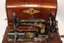 Staré šicí stroje