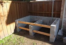 Compost area built for Garden