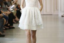 Short wedding dress / Vestidos curtos para o grande dia