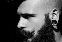мужские стрижки,бороды