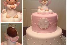 tortas bautismo