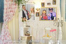 фото зона свадьбы