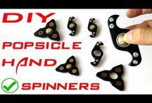 Fidget spinner make