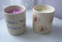 Soy candles / Our new range of bio-friendly soy candles. 