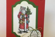 Father Christmas Stampin Up