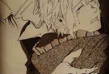 MORENO ART DRAWING / Scene e disegni manga disegnati e pensati da Moreno Paissan!