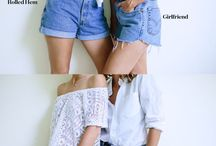 Denim shorts DIY