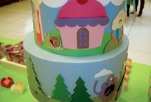 Cakes Bolos Decorados - Kelly Leite Cakes / www.facebook.com/cakes.bolosdecorados