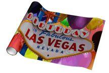 Las Vegas Birthday Wrapping Paper