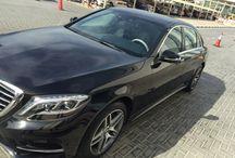 Mercedes S500 Black