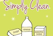 Homemade Cleaning Stuff / by Tanya N.