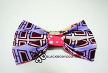 Trendy African fabric bow-tie / Handmade Bow-ties made out of African fabric that can be dresses however you want. Be confident be beautiful