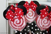 Minnie & Mickey Mouse  / by Brenda Calderon