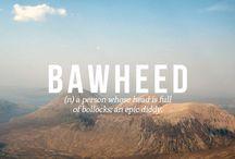 Scottish words