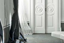 Garderob door