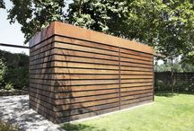 Villa Morken - garden shed