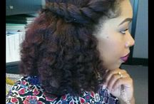 D day Afro Hair dos
