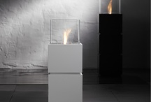 Safretti Fireplaces / Every Safretti® fireplace (www.safretti.nl) is the work of Dutch designers extraordinaire and hand-made in Holland. It burns bio-alcohol which produces a low temperature flame. Outdoor and indoor use. No electricity. No flue. Simple installation. Zero maintenance. Custom color and shape available for the ultimate exclusivity.