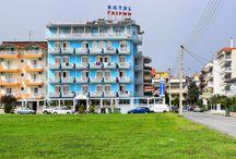 Ξενοδοχείο Γκίρνη Παραλία Κατερίνης Πιερία / Μόλις 300μ. από την παραλία, το Hotel Girni προσφέρει μοντέρνα δωμάτια με ιδιωτικό μπαλκόνι σε ένα παραλιακό θέρετρο.   http://www.girni-realestate.com , Τηλ: +30 23510 62720 Κιν: +30 6978 553773 Fax: +30 23510 62720 Email: info@girni-realestate.com