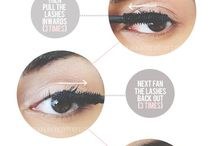 Make up - Lashes and brows