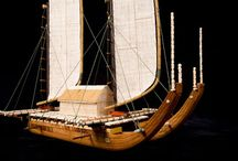 Tahitian Double Hull Canoe