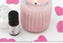 DIY Vytvořte vonící svíčku