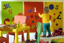 toddler playroom / by Kristina Westfall