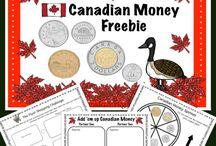 canadian money activities