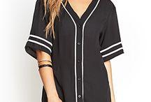 baseball jersey top