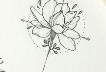 Tatuagens modelo