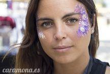 maquillaje de fantasía para adultos en Barcelona / maquillaje de fantasía para adultos en Barcelona. Pintacaras y maquillaje para festivals o fiestas privado. maquiadora differente en barcelona