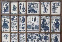 cross stitch loves / by Anne Riccioli Paraskevas