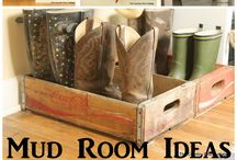 Mud room ideas / by Tracy Petkovsek