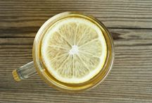 Health / Morning: Drink Hot Water and Lemon