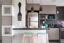 Cozinha/sala de janta