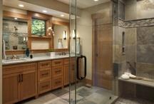 Bathroom ideas / by Sara Battersby Brown