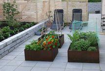 Anvendelse af cortenstål i haven