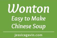 Soups / My favorite meal, any day, any time!