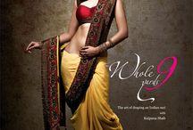Saree dressing