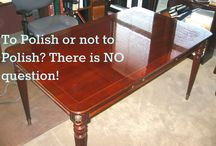Furniture Care / Content on this board is in regard to furniture care and maintenance and simple repair.