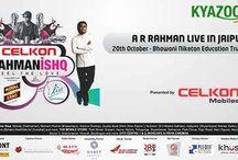 KyaZoonga.com: Buy tickets online for AR Rahman's  Rahmanishq - Jaipur