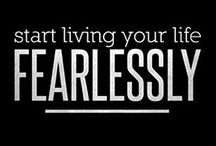 The Art of Fearless Living - Blog / We all have fears. And our Fears affect us differently, in varying degrees. Are we going to allow our fears to keep us in prison, or will we find the courage to break out of our fears?   Blog - http://shirleymaya.com/