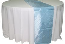 Table Runners / See the table runners that Waterford Event Rentals have to offer.