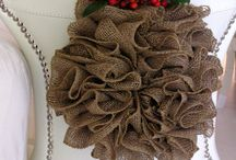 Burlap / Crafts and Home deco