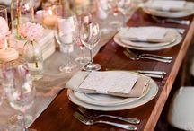 Wedding Table Setting & Other Tidbits