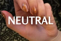 NEUTRAL Mixify Polish Create your own nail polish color / Get creative with your neutrals! Inspiration for brown, beige and neutral shade nail polish creations
