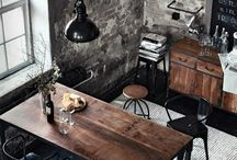 Industrial Revolution / Industrial influenced design and living spaces...